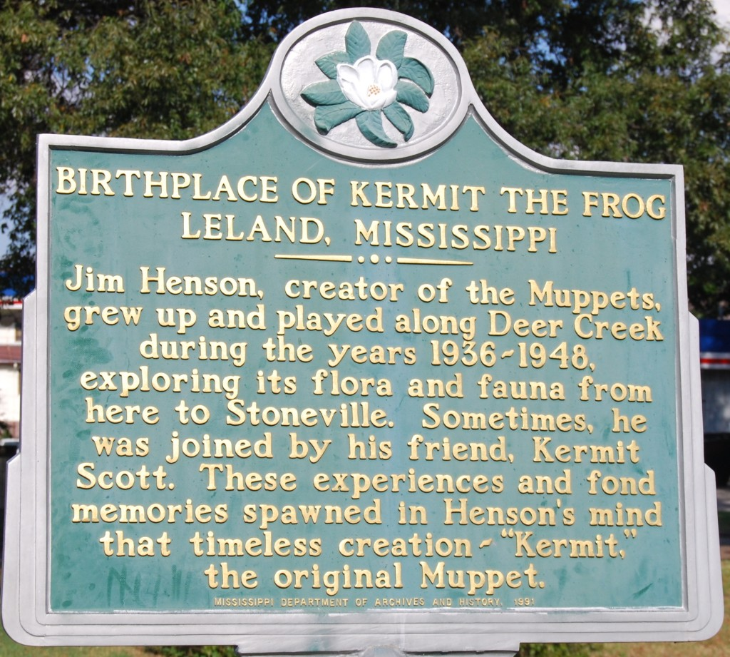 Birthplace of Kermit the Frog Marker