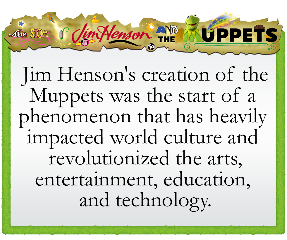 The Story of Jim Henson and the Muppets