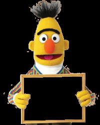 Clip Art Sesame Street Clipart sesame street clip art muppet hub bert 4
