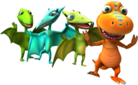 Dinosaur Train Cast