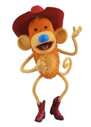 Waffle the Cowboy Monkey 1