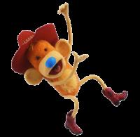 Waffle the Cowboy Monkey 2