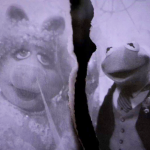 Kermit and Piggy Torn Wedding Photo edited