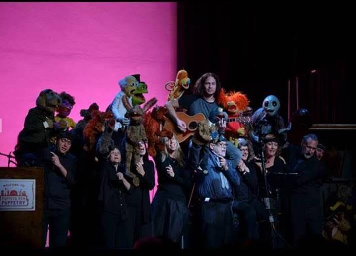 "Credit: The ""Puppets for Puppetry"" fundraiser on Saturday, September 24, 2016 featured memorable performances by Brian Henson and the cast of Puppet Up! – Uncensored, the Fraggles, the Muppets, Ray Toro of My Chemical Romance, and honoree Dave Goelz and The Great Gonzo. All photos courtesy of The Jim Henson Company. © 2016 The Jim Henson Company."